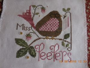 Miss Peepers Finished.