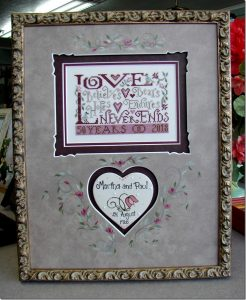 Forever Love by Silver Creek Samplers.