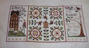 Robin's Song by Little House Needleworks.