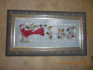 Joyeux Noel by Blackbird Designs - Framed.