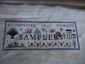 Samplers by The Scarlett House.