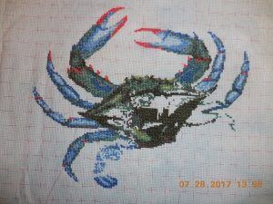 Queenstown Blue Crab Progress 7/28.