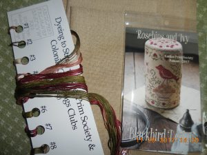 Rosehips and Ivy Kit by Blackbird Designs.