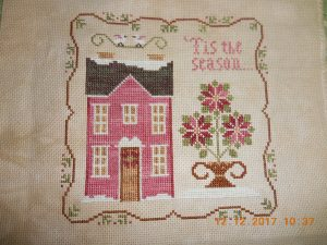 Poinsettia House by Little House Needleworks,