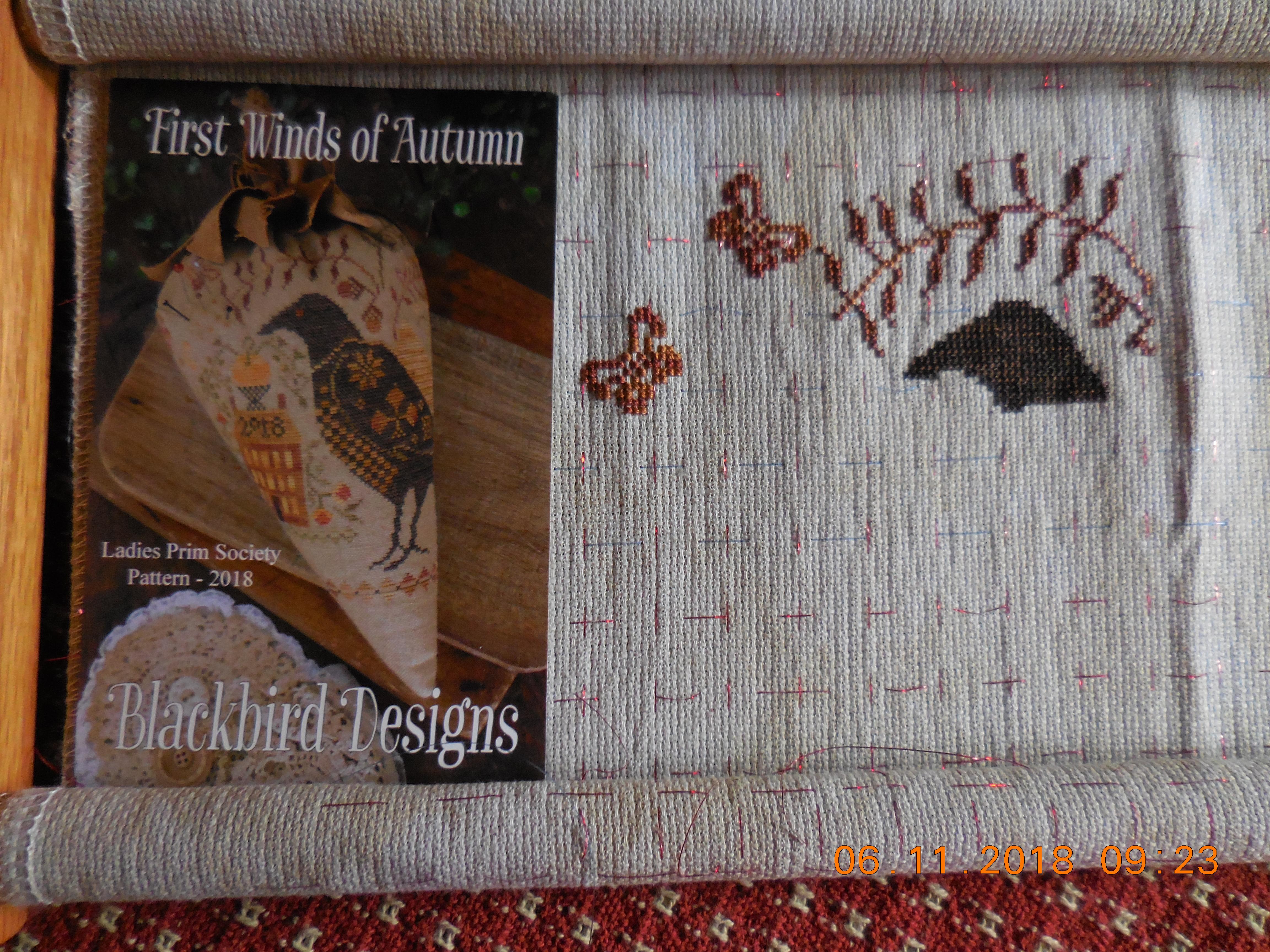 First Winds of Autumn by Blackbird Designs   Pat's Cross
