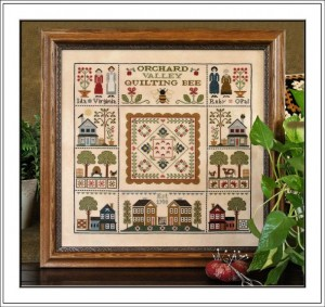 Orchard Valley Quilting Bee from Little House Needleworks