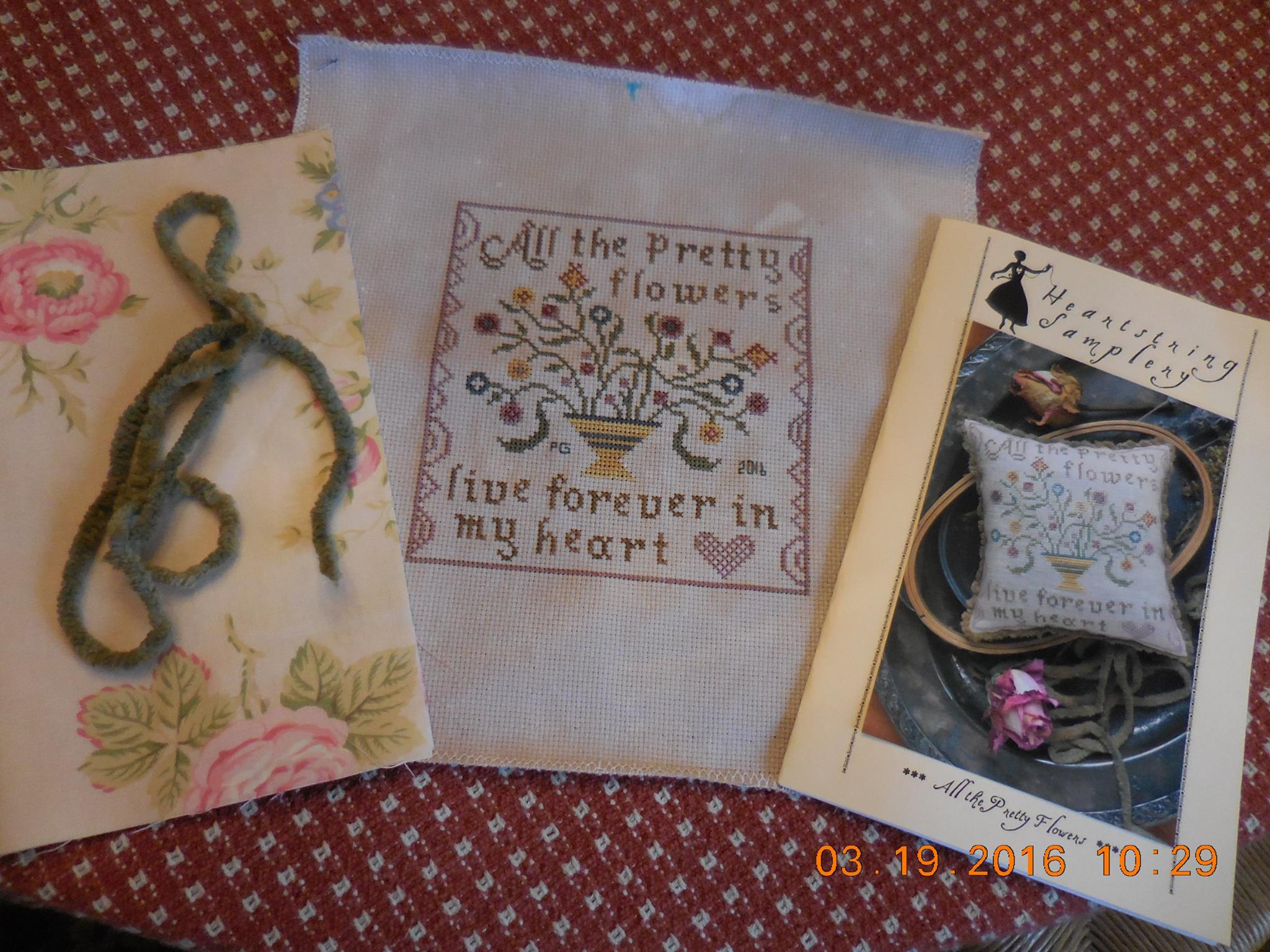 All The Pretty Flowers By Heartstring Samplery Pats Cross Stitch