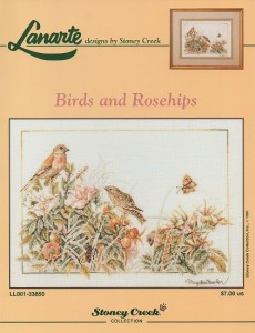birBirds and Rosehips by Lanarte.