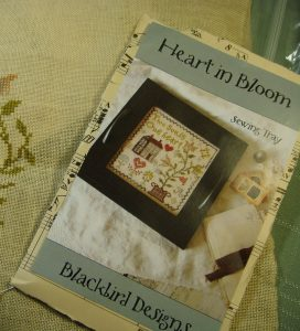Heart in Bloom Sewing Tray