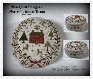 Merry Christmas Drum.
