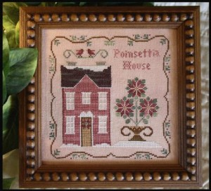 Poinsettis House from Little House Needleworks.
