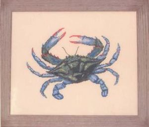 Queenstown Blue Crab by Queenstown Sampler Designs.