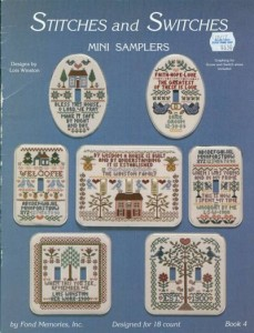 Samplers and Switches Leaflet by Lois Winston.