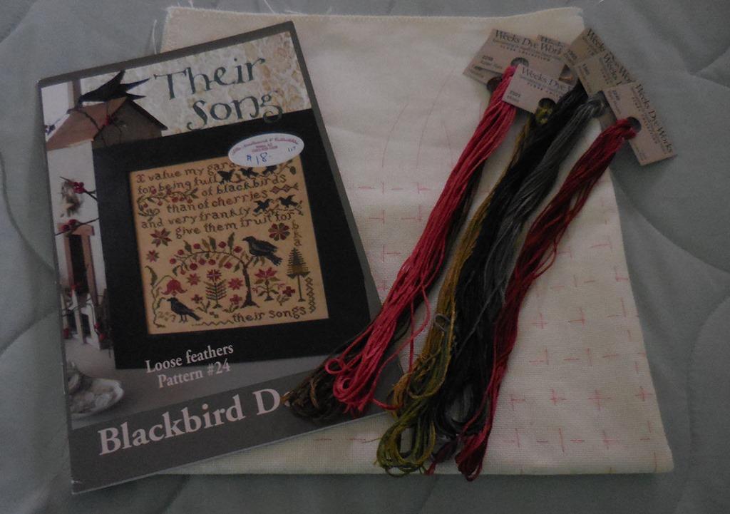 Their song by blackbird designs for Blackbird designs english garden