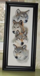 The Wolf Pack framed.